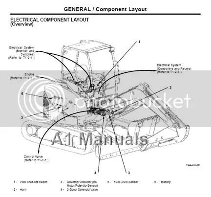 Hitachi ZX 40U-3 50U-3 Hydraulic Excavator Technical