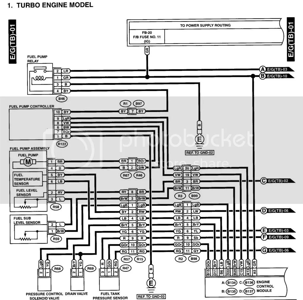 wrx fuel pump controller wiring diagram