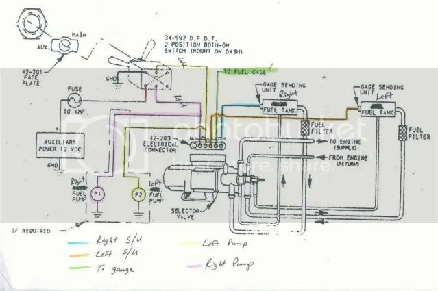 su fuel pump wiring diagram
