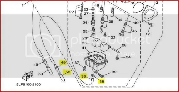 Yamaha Raptor 80 Carburetor Diagram, Yamaha, Free Engine