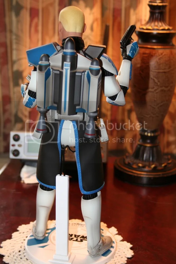 Sideshow Collectibles Star Wars Clone Wars Captain Rex Review (3/6)