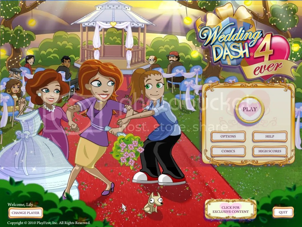 Wedding Dash 4-Ever Title Page