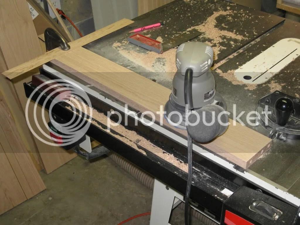 coffee table,sanding