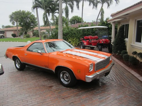 small resolution of 1974 chevrolet el camino v8 350 a c new paint and interior muscle car no reserve on 2040 cars