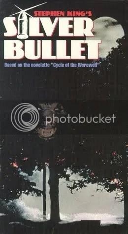 Silver Bullet VHS