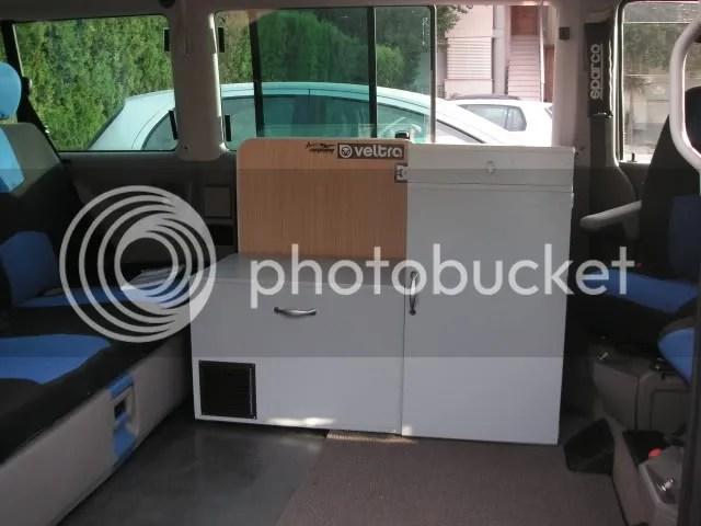 Mueble fregadero y arcon frigo para multivan T4