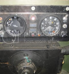 lightweight land rover club view topic 3 in 1 gauge oil temperature image land rover clock wiring  [ 1024 x 768 Pixel ]