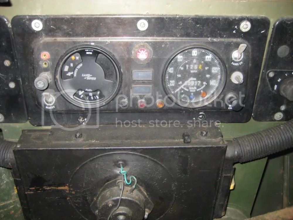 medium resolution of lightweight land rover club view topic 3 in 1 gauge oil temperature image land rover clock wiring