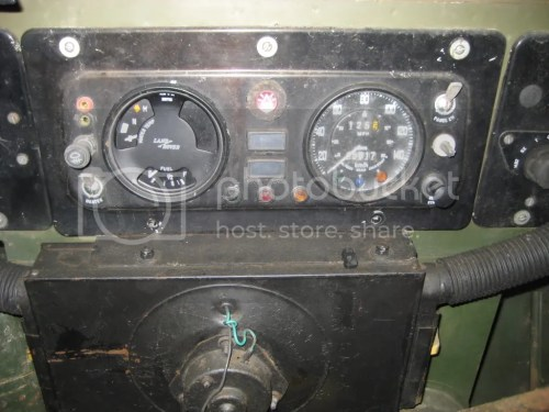 small resolution of lightweight land rover club view topic 3 in 1 gauge oil temperature image land rover clock wiring