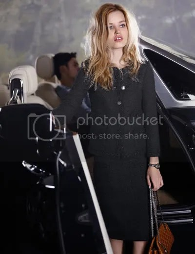 chanel cruise 2011 look book
