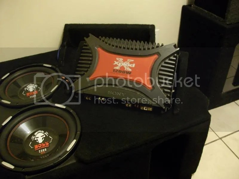 Thread Fs Sony Xplod 1200 Watt Audio Amplifier
