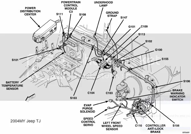 2004 Jeep Liberty Tail Light Wiring Diagram 2004 Jeep