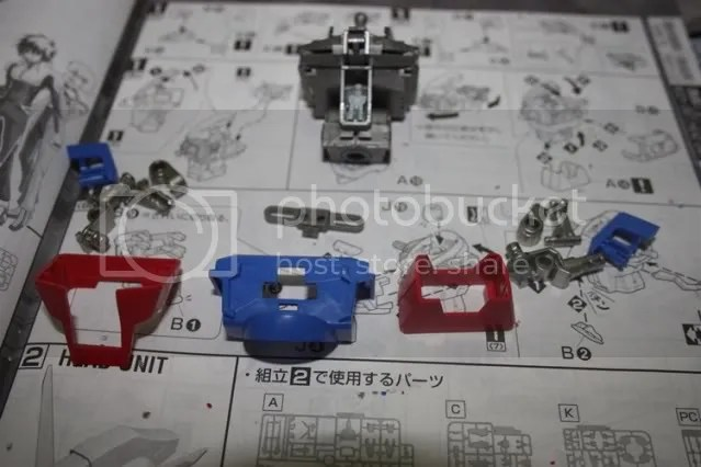 Some armour parts to cover up the inner frame