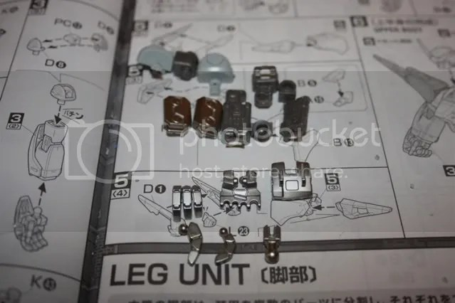 Parts for the inner frame of the arm. Chromed parts are sexy~ xD