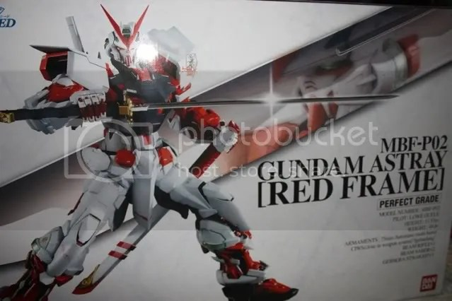 PG RED FRAME!!!!!!!!!