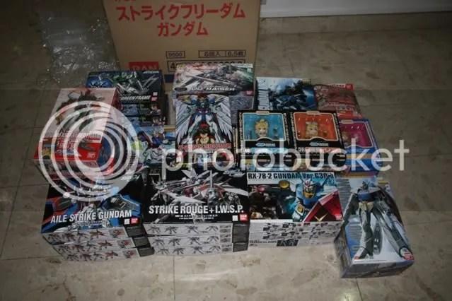 Gundams galoree~