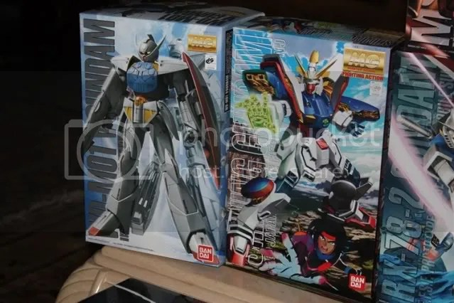 MG Turn A Gundam and MG Shining Gundam!!
