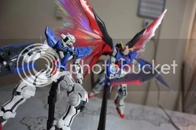 Exia: Pfft! Youre swords useless!