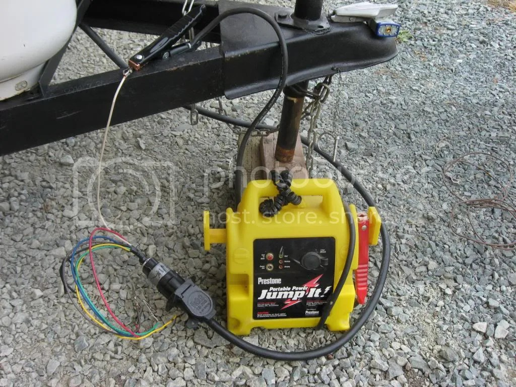 Testing Trailer Wiring With Battery