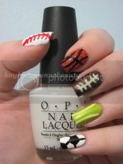 nails of day - summer sports