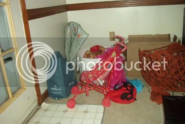 the stroller