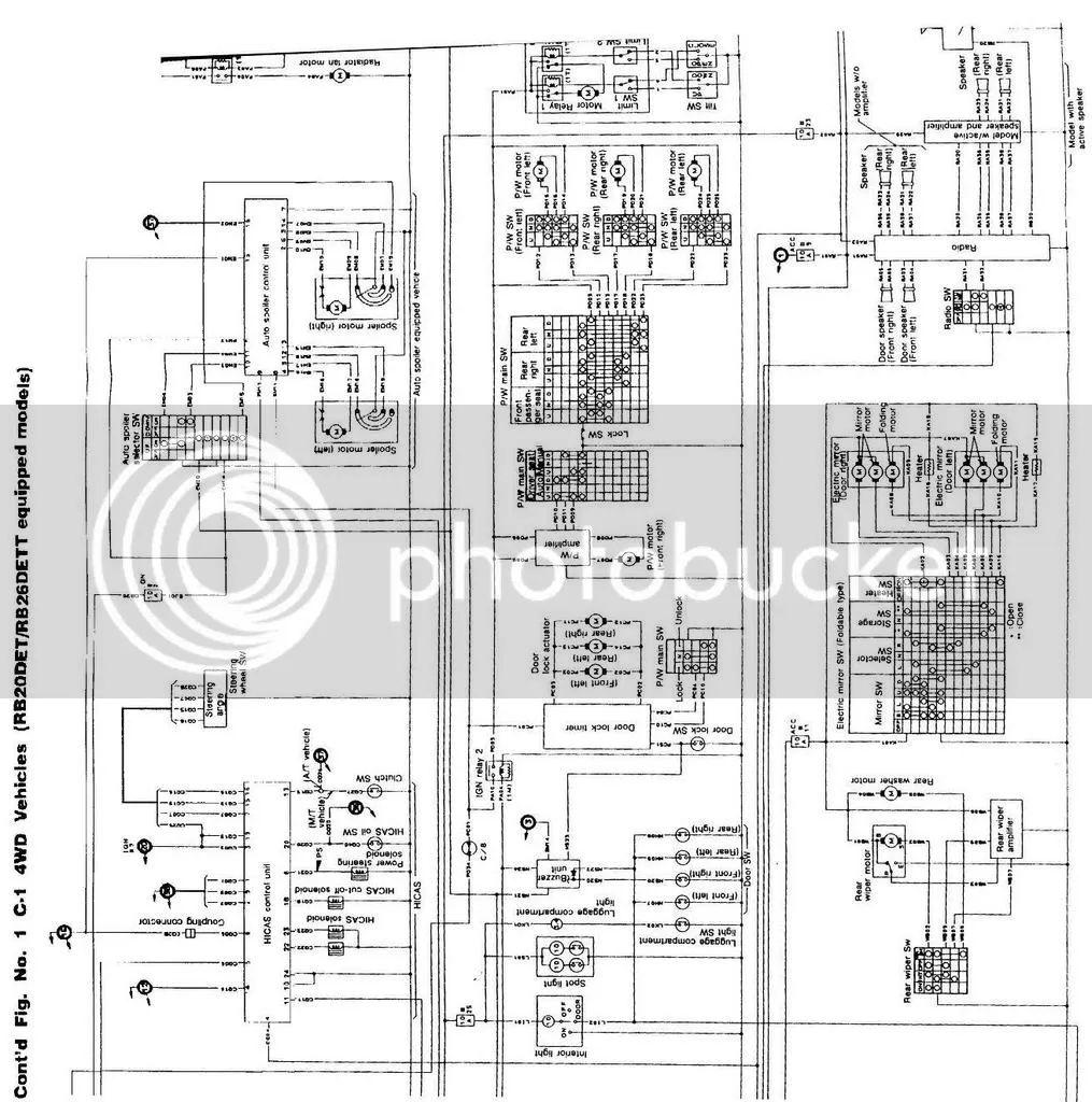 r32 gtr headlight wiring diagram