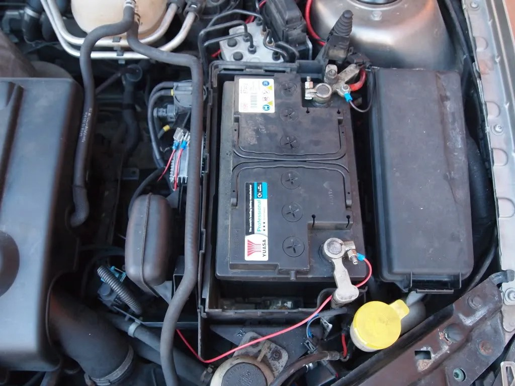 hight resolution of create a wire with a fuse holder in line this will go from positive on the battery to the relay 10 remove engine cover