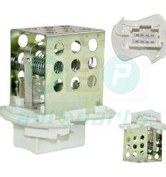 heater blower motor fan resistor for vauxhall opel movano 1 9 2 2 2 5 3 0 diesel  [ 990 x 990 Pixel ]