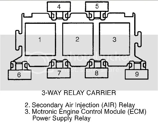 2000 a4 1.8t ECU relay location???????