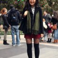 Jennifhsieh remix how to wear over the knee socks
