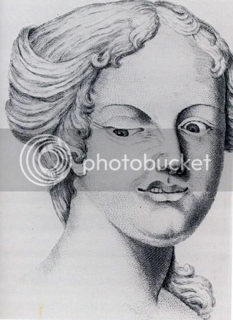 James Parsons, mulher desdenhosa, de Crounian-Lectures on Muscular Motion,1745