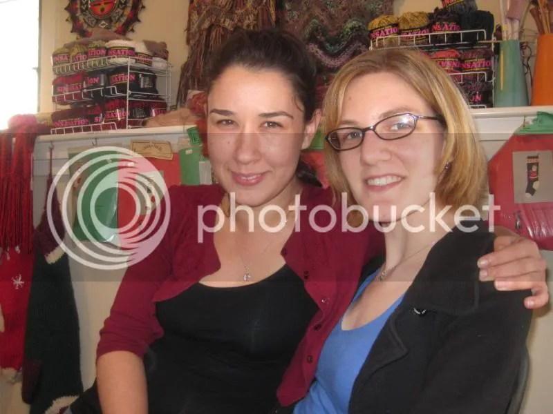 Tya & Megan at The Yarn Place