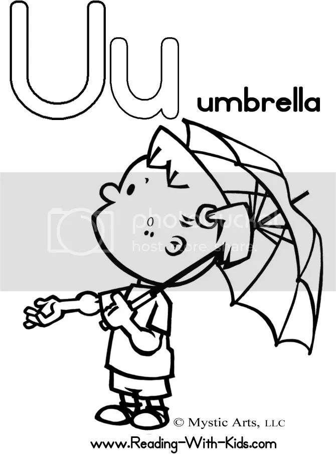 Children Coloring Pages: Alphabet Coloring Pages with