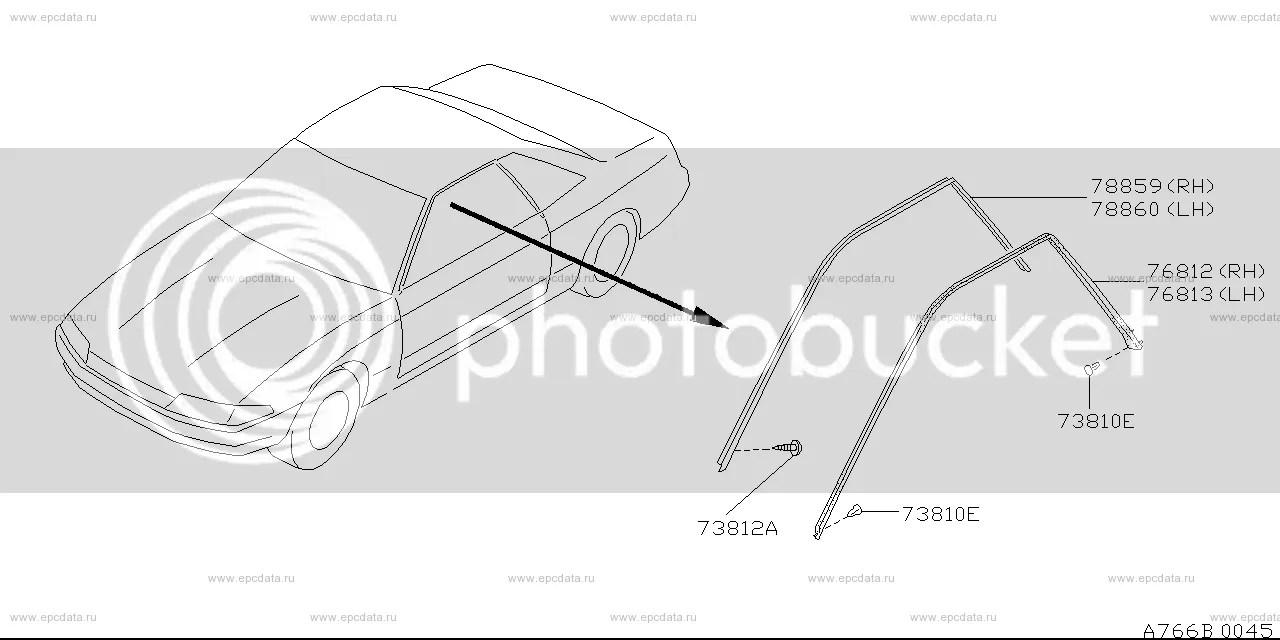 Replacing window/door/boot seals & mouldings, help