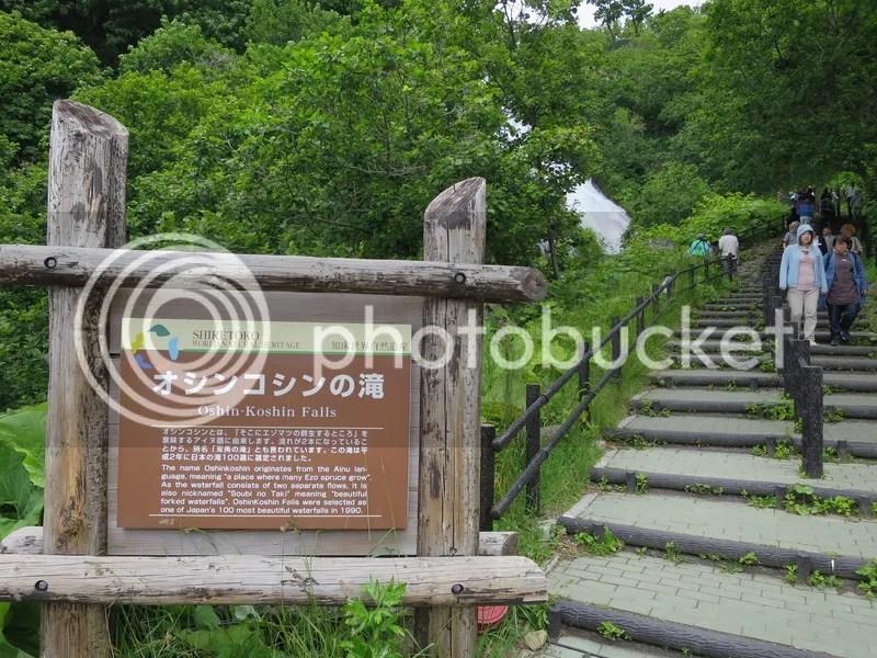 Shiretoko Oshin Koshin Falls