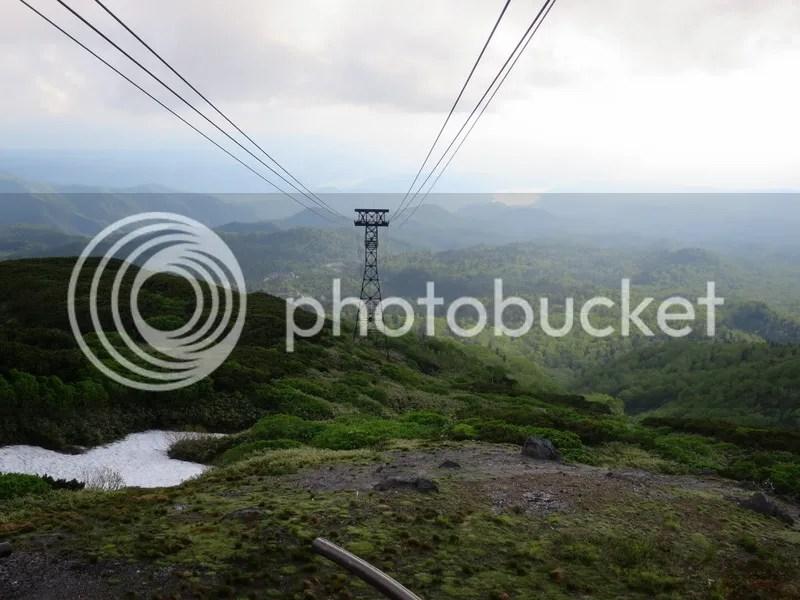 Asahidake mountain view
