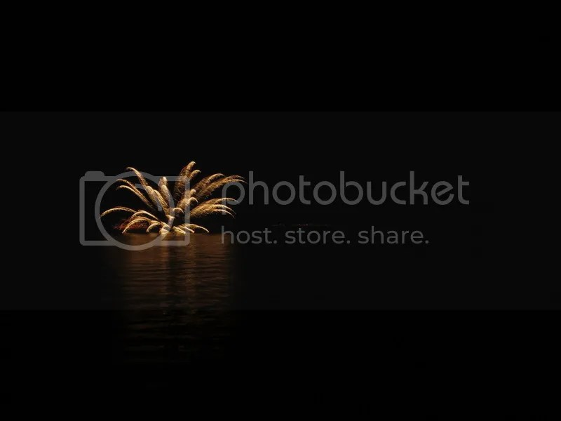Lake toya resort fireworks