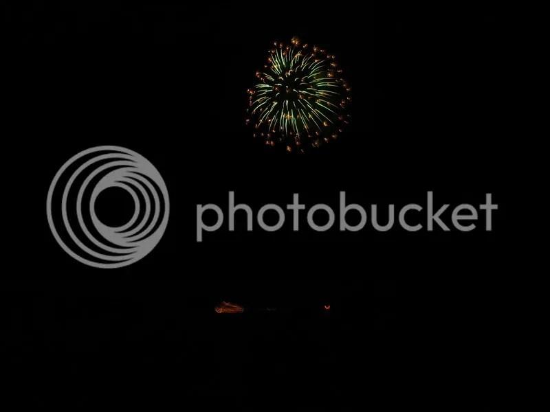 Lake toya resort firework