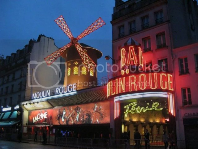 Only visited this place because I watched the movie Moulin Rouge and sad to say, it was a lot smaller than expected. Tickets to the cabaret show was sold out really early!! Then again, I wouldn't have paid the $$ to watch too. Expensive >_ photo 550480_10151088178121209_753355893_n.jpg