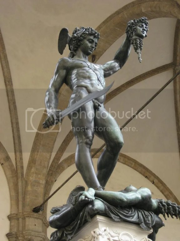 """Perseus with the Head of Medusa"", by Cellini (1554) photo 292368_10151093346616209_1431326013_n.jpg"