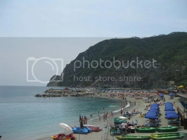 Monterosso al Mare - the furthest and most touristy town. photo 380586_10151093392066209_343403304_n.jpg