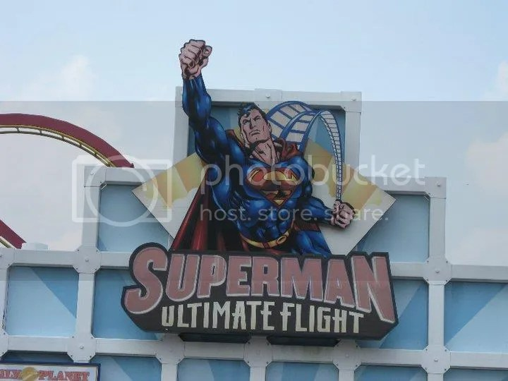 Discover what it's like to be the Man of Steel on Superman: Ultimate Flight?the only coaster of its kind in the Northeast. Lie face down and soar head-first through a twisted steel track, diving into highly banked curves, spirals and a jaw-dropping, photo 36471_458617561208_5041513_n.jpg