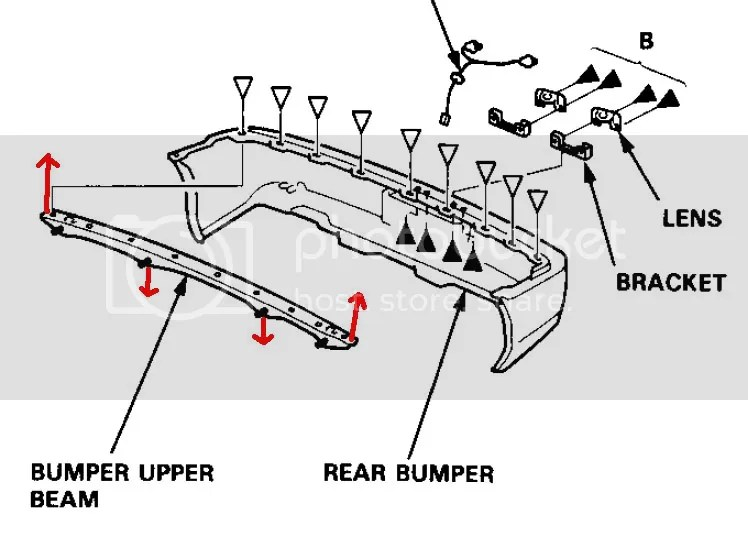 WTB: Integra fenders and rear bumper support beam and