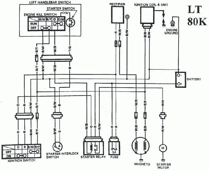 LT80 Wiring Diagram