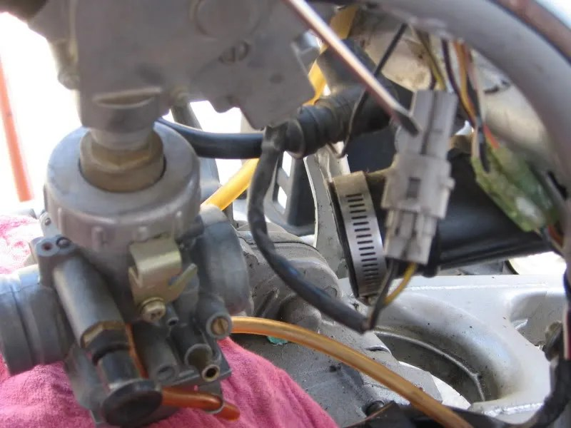 yamaha blaster tors wiring diagram beckett burner t o r s removal you don need them anymore chase those wires all the way down strip from harness