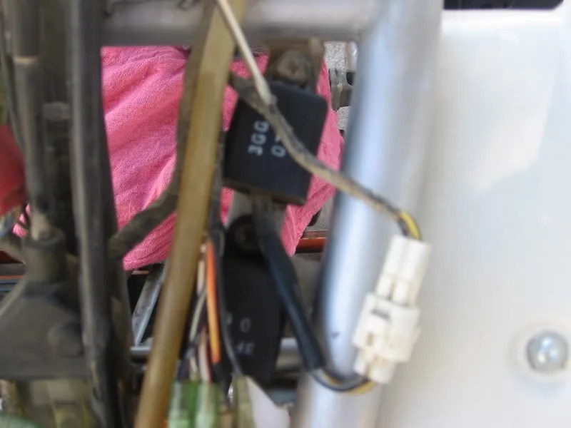 yamaha blaster tors wiring diagram 1990 honda accord stereo t o r s removal throttle electrical is also removed housing to access screws holding it in place chase the line down behind hood and unplug from harness