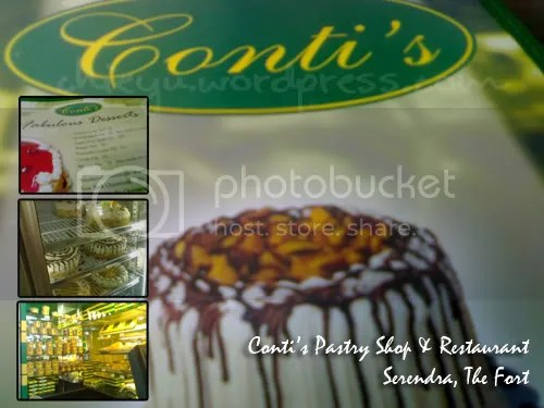 Conti's Pastry Shop & Restaurant @ Serendra, Fort