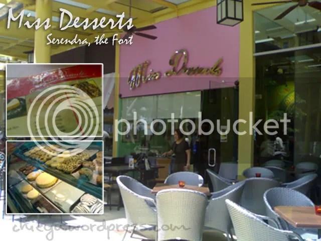Miss Desserts @ Serendra