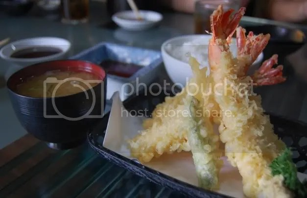 Nihonbashitei_ebi tempura set