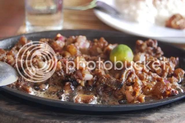 BADJAO SEAFRONT_pork sisig